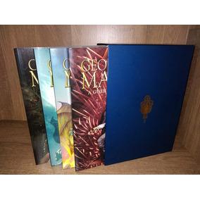Box Hqs Crônicas De Gelo E Fogo - 4 Volumes