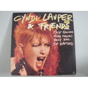Lp Cyndi Lauper & Friends Mick Jagger Nina Hagen Billy Joel