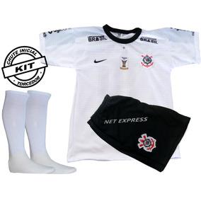 Conjunto Infantil Corinthians Uniforme 2019 Pronta Entrega. São Paulo · Conjunto  Infantil Futebol Corinthians Camisa+shorts E Meião 63da0b5aa2586