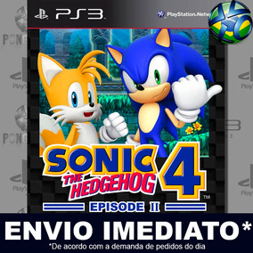 Sonic The Hedgehog 4 Episode Il Ps3 - Digital Envio Agora