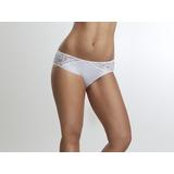 7e6a29851bd8 Calzon Bikini Encaje Blanco Marca Flores 2 Unidades Por 9000