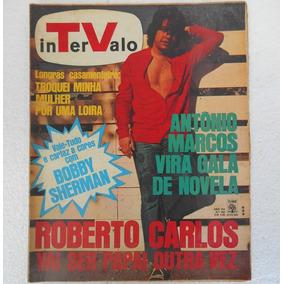 Revista Tv Intervalo Nº 398 Roberto Carlos Vai Ser Papai