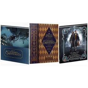 Livro Os Crimes De Grindelwald Os Arquivos Da Magia - 3 Vol.