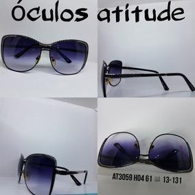 Óculos De Sol Retrô Atitude Oculos - Joias e Relógios no Mercado ... 955a22ff74
