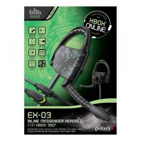 Ex-03 Plug 2.5xbox 360, Audifonos Gamer, Nuevos Sellados O