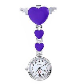 67aeaebb87c Garrote Enfermagem Roxo - Relógios De Bolso no Mercado Livre Brasil