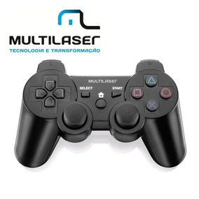 Joypad Multilaser Usb Dual Shock Js030 C/ Analogicos