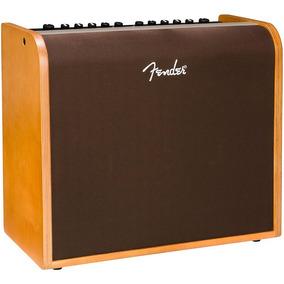 Cubo Amplificador Fender Voz E Violão Acoustic 200w Vintage