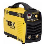 Máquina De Solda Inversora Ie7180 180a Mma Bivolt Super Tork