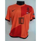 eef0c071af Camisa Seleção Holanda Nike 10 Sneijder Jogador - Camisa Holanda ...