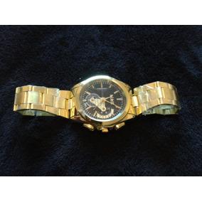 Relógio Dourado Frete Grátis