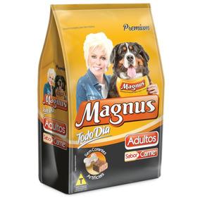 Ração Magnus Premium Carne Todo Dia 25kg