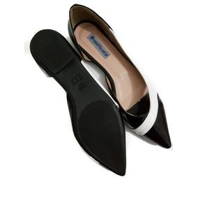 0a7daa6c1f Sapato Social Di Buck Preto Feminino Sapatilhas - Sapatos no Mercado ...
