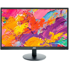 Monitor Led 23.6 Aoc E2470swhe Full Hd Widesreen Hdmi