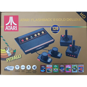 Atari Flashback 8 Gold Deluxe120 Jogos Novo Original Lacrado