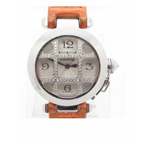 Reloj Cartier Diamond Grill 18k Y Diamantes Original