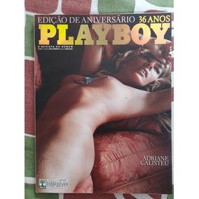 Playboy Adriane Galisteu. Edição De Aniversário. Agosto 2011