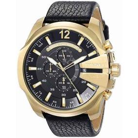 Diesel - Reloj Dz4344 Mega Chief Gold Para Hombre