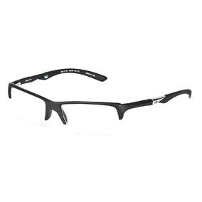 Armação Óculos De Grau Mormaii Camburi Preto Fosco Com Verde ... e1188da8de