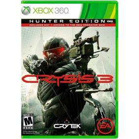 Jogo Crysis 3 Hunter Edition Xbox 360 Novo Lacrado M.fisica