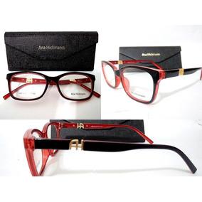 0f0a2e38fef00 Armação P  Óculos Grau Grife Acetato Ah2019 Luxo +case