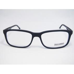 Armação Para Óculos Paulo Carraro Grande M1718 Tamanho 60
