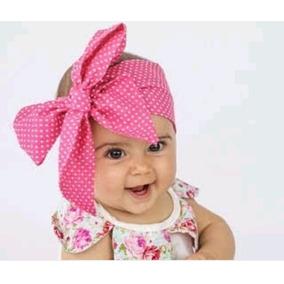 Moño Jumbo Headband Headwrap Niña Bebe Diadema Bandita