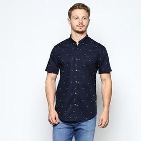 Camisa (v)®. - Azul Marinho   Branca - Gg Vide Bula f1a91f90da435