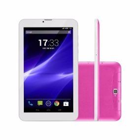 Tablet Multilaser Nb248 M9 3g Rosa 8gb Tela 9