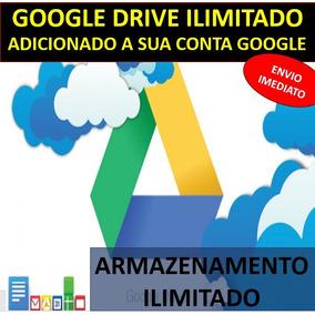 Google Drive Ilimitado - Adicionado À Sua Conta Atual