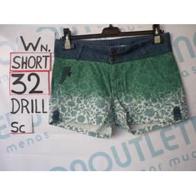 Shorts Para Damas Talla 32 Piers Drill Sd32d1501