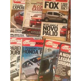 Lote Revista 4 Quatro Rodas 02/03/05 Frete Gratis