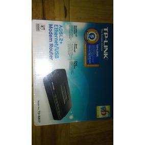 Tp Link Adsl2 Ethernet/usb Modem Router Y 5port Switch Combo