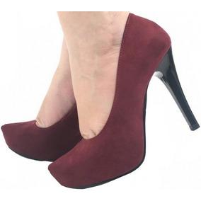 52505fac52 Meia Pata Importado Scarpin - Sapatos Violeta escuro no Mercado ...