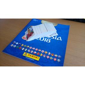 Álbum Copa Do Mundo 2018 + Kit Com 320 Figurinhas