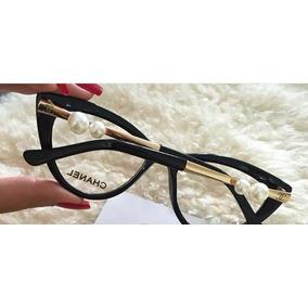 Oculos De Grau Chanel Vinho E Branco - Óculos no Mercado Livre Brasil 3d16d8351d