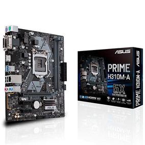 Placa Mãe Asus Prime H310m-a Socket Lga 1151 - Até 2 Ddr4