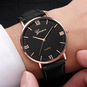 Relógio Masculino Geneva Genebra Quartz Luxo