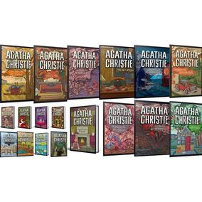 Coleção Agatha Christie Kit Com 19 Livros Em Capa Dura