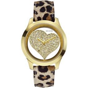 Vanité Reloj Guess Original Para Dama W0113l7 Mujer
