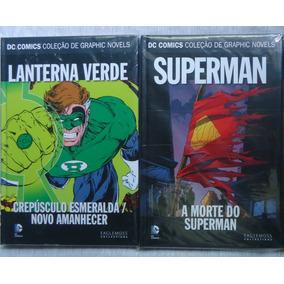 Lanterna Verde & Superman Dc Eaglemoss