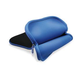 Capa Luva Pasta Case Multilaser Para Tablet 10 Preto E Azul