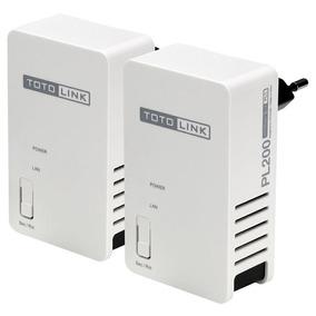 Extensor De Señal Repetidor Wifi 200mbps 300m Kitpl200