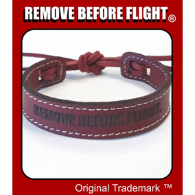 Brazalete Unisex Red Flex - Remove Before Flight ®