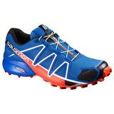 Tenis Hombre Salomon Trail Running Speedcross 4 Azul