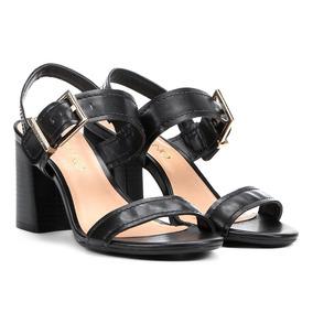 4ef72fd53 Sandalias Via Uno Salto - Sapatos no Mercado Livre Brasil