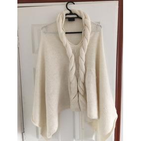 Poncho De Mujer Color Blanco Talla Xl d826f87bd32b