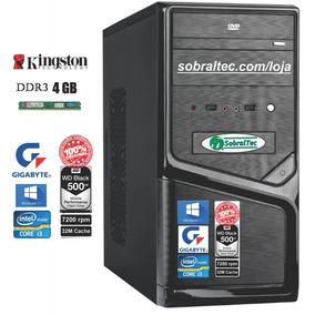 Computador Superinfor Core I3- Foxconn Tg-h61/hd 500gb/4 Gb