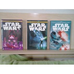Star Wars 1,2 E 3 Livros Novos
