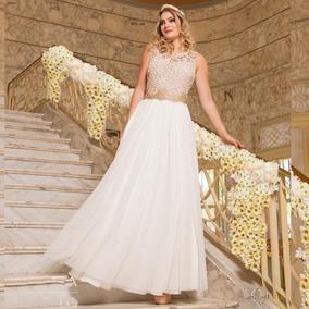 Vestido Chique Civil Casamento E Colação De Grau